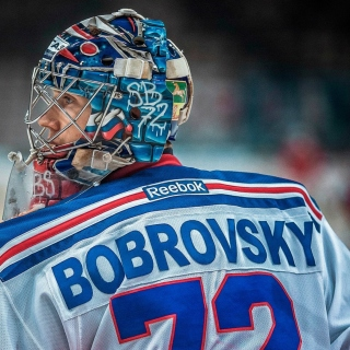 Sergei Bobrovsky NHL Background for iPad 3