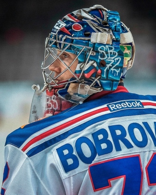 Sergei Bobrovsky NHL Background for Nokia Asha 306