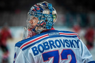Sergei Bobrovsky NHL Background for Android 480x800