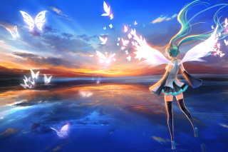 Vocaloid, Hatsune Miku sfondi gratuiti per cellulari Android, iPhone, iPad e desktop