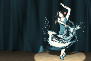 Splash Dance Background for Android, iPhone and iPad