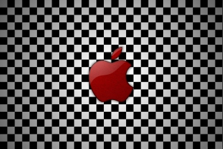 Free Apple Red Logo Picture for Android, iPhone and iPad