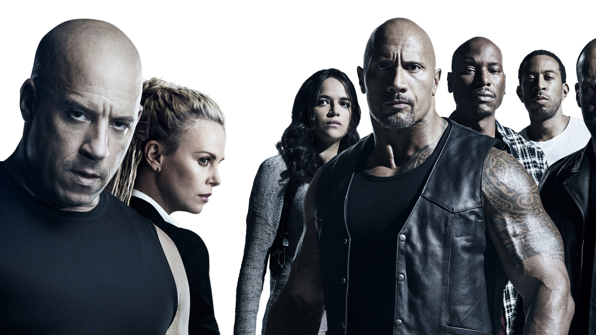 The Fate of the Furious Cast wallpaper 1920x1080