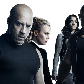 The Fate of the Furious Cast - Obrázkek zdarma pro 320x320