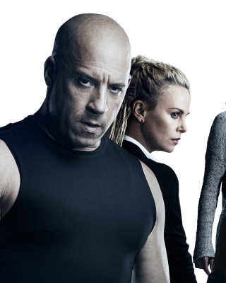 The Fate of the Furious Cast - Obrázkek zdarma pro 320x480