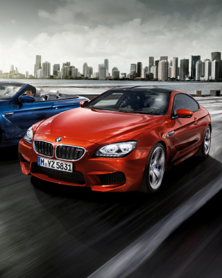 BMW M6 Convertible sfondi gratuiti per iPhone 3G