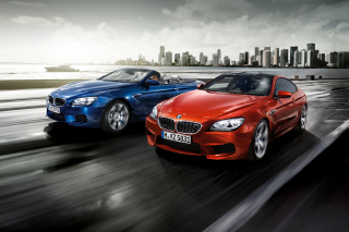 BMW M6 Convertible Background for Android, iPhone and iPad
