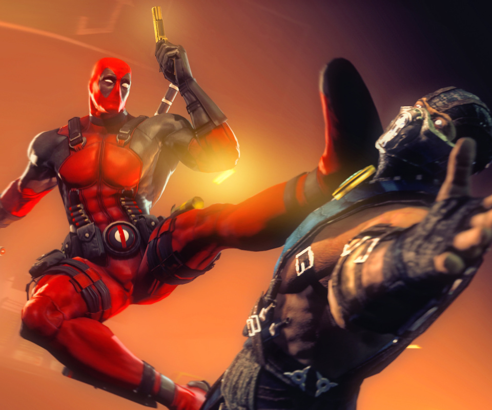 Screenshot №1 pro téma Deadpool Marvel Comics Hero 960x800