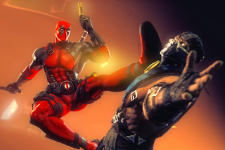 Free Deadpool Marvel Comics Hero Picture for Android, iPhone and iPad