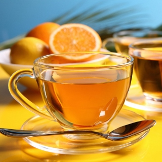 Tea with honey sfondi gratuiti per iPad 3