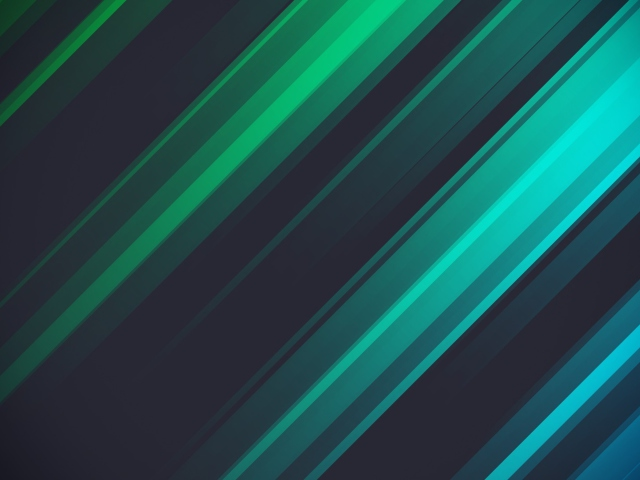 Screenshot №1 pro téma Green And Blue Stripes 640x480
