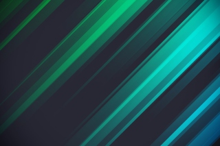 Green And Blue Stripes Picture for Android, iPhone and iPad