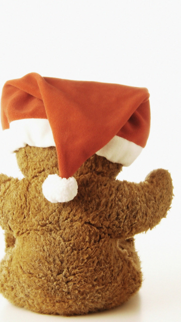 Christmas Plush Bear screenshot #1 360x640