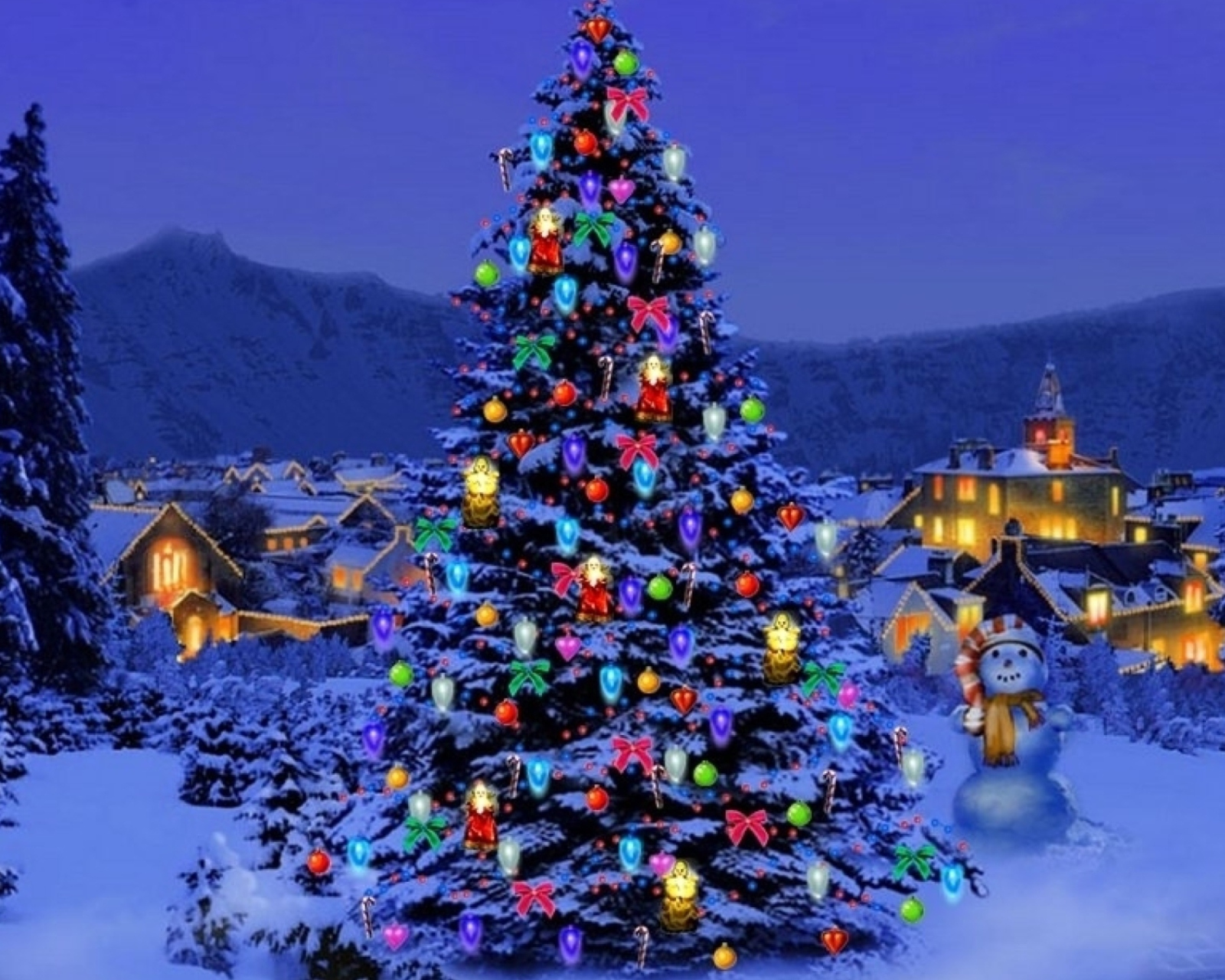 Christmas Tree wallpaper 1600x1280