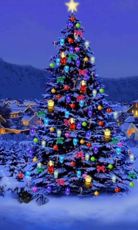 Christmas Tree wallpaper 480x800