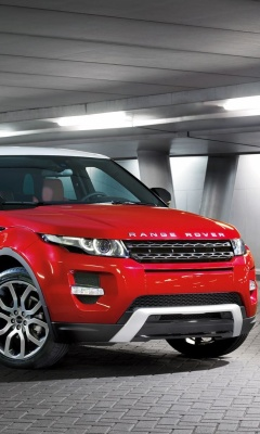 Screenshot №1 pro téma Land Rover Range Rover Evoque SUV Red 240x400