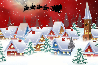 Homemade Christmas Card Wallpaper for Desktop 1280x720 HDTV