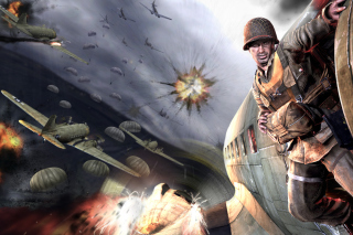 Medal Of Honor Airborne Background for Android, iPhone and iPad