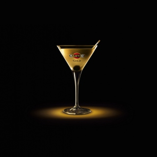 Martini Gold Finger sfondi gratuiti per iPad mini