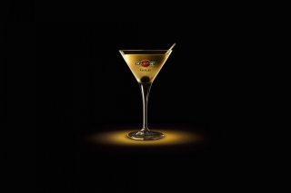 Martini Gold Finger Background for Android, iPhone and iPad