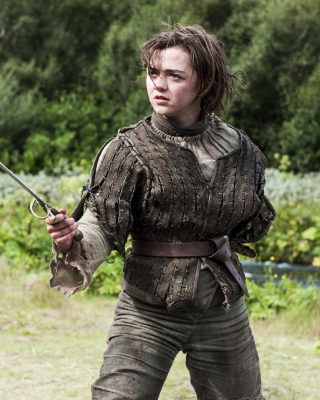 Game of Thrones Arya Stark Background for Nokia 2720 fold
