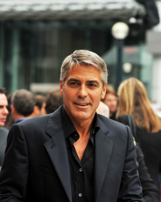 George Timothy Clooney Wallpaper for Nokia Asha 306