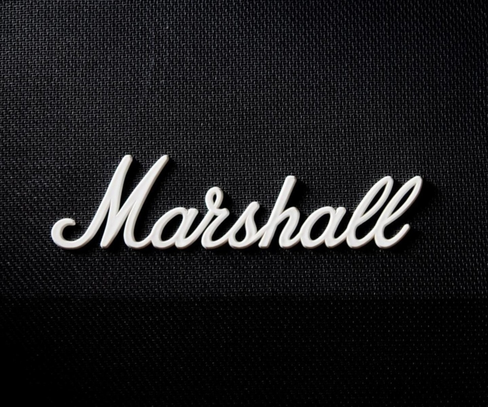 Marshall Logo wallpaper 960x800