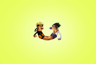CatDog Naruto Wallpaper for Android, iPhone and iPad