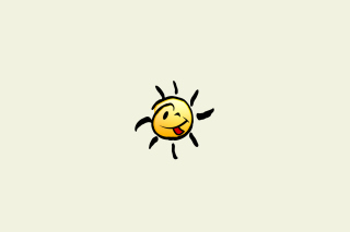 Funny Sun Wallpaper for Android, iPhone and iPad