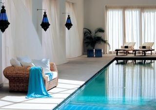 Swimming Pool Interior Picture for Android, iPhone and iPad