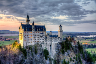 Neuschwanstein Castle, Bavaria, Germany Wallpaper for Android, iPhone and iPad
