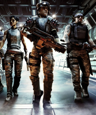 Aliens: Colonial Marines Wallpaper for 480x800