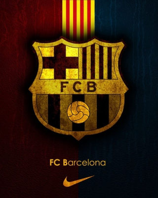 Обои Barcelona Football Club для телефона и на рабочий стол Nokia Asha 306