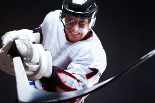 Hockey Player Background for Android, iPhone and iPad