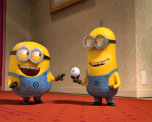 Despicable Me 2 Funny Minions para 220x176