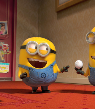 Despicable Me 2 Funny Minions Picture for Nokia Asha 306