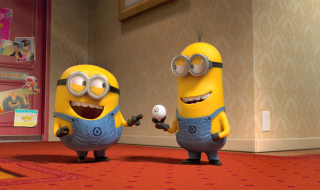 Despicable Me 2 Funny Minions Wallpaper for 220x176