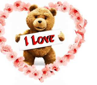 Love Ted Background for LG KP105