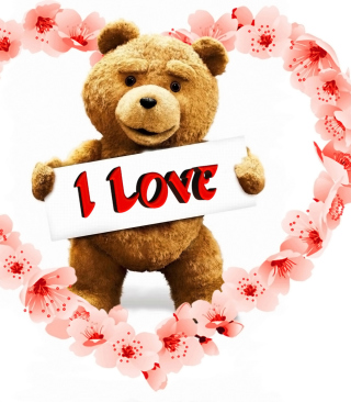 Love Ted Background for Nokia Asha 306