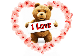 Love Ted Wallpaper for 320x240