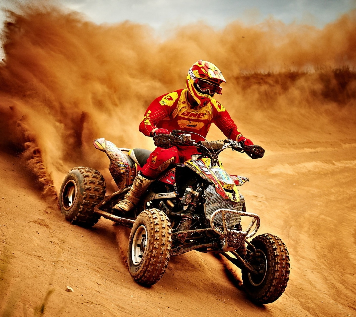 Screenshot №1 pro téma Yamaha ATV Quad Bike 1440x1280