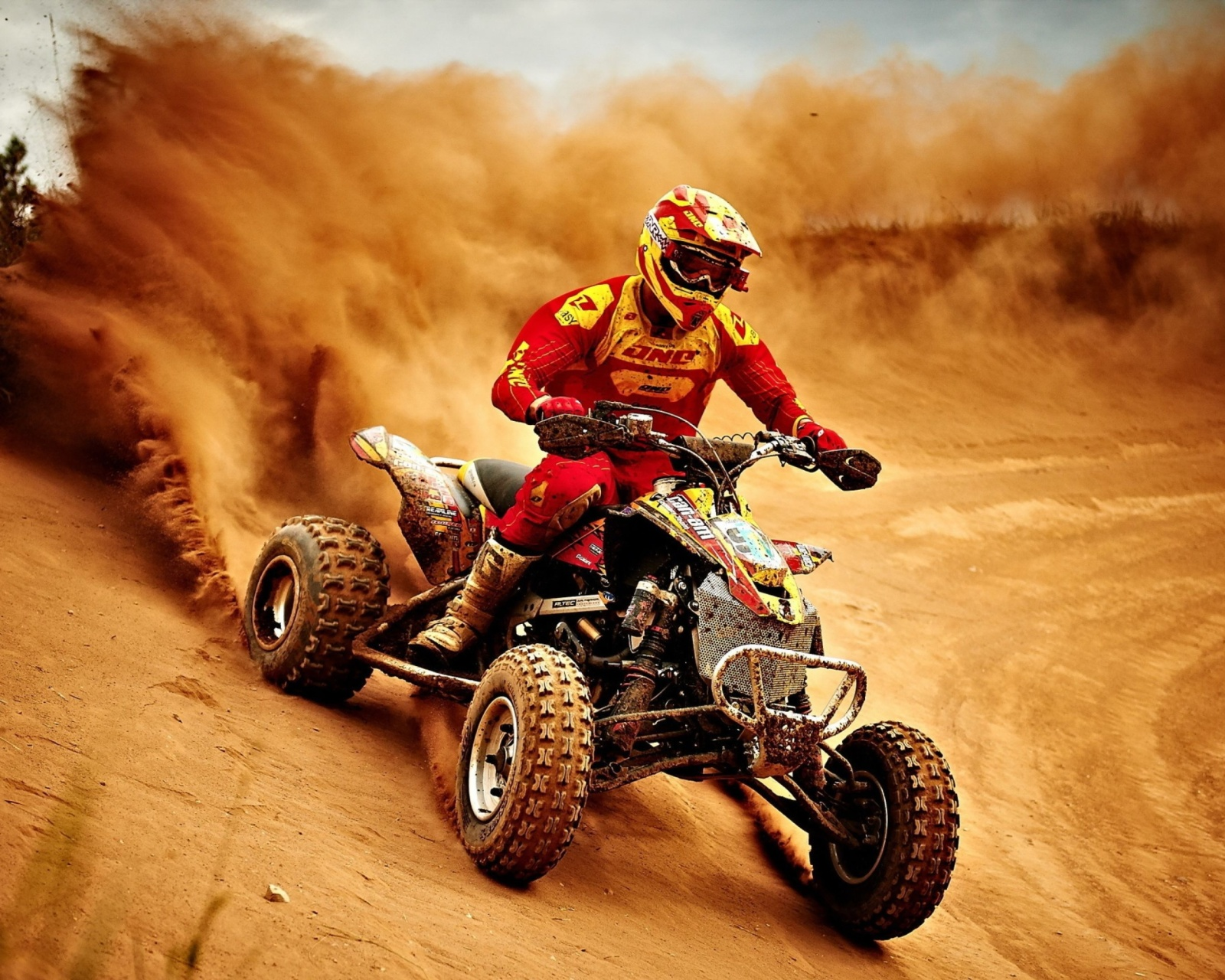 Screenshot №1 pro téma Yamaha ATV Quad Bike 1600x1280