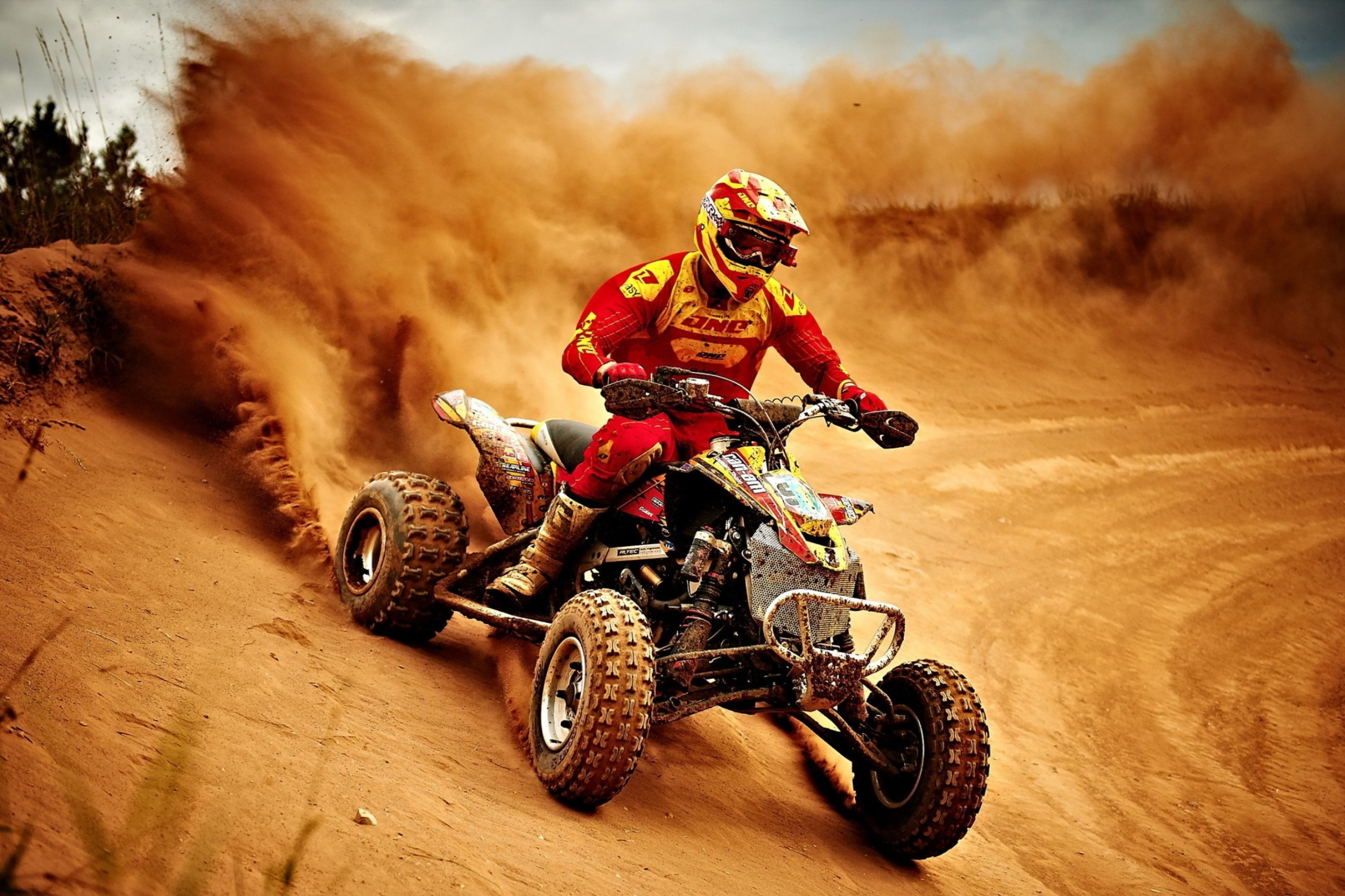 Screenshot №1 pro téma Yamaha ATV Quad Bike 2880x1920
