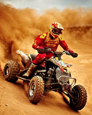 Yamaha ATV Quad Bike Picture for Nokia C-5 5MP