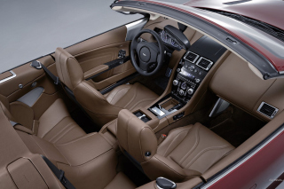 Aston Martin DBS Interior Background for Android, iPhone and iPad