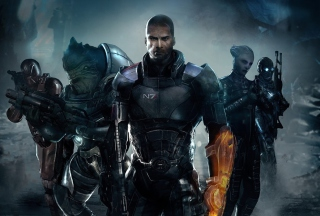Mass Effect 3 Wallpaper for Android, iPhone and iPad