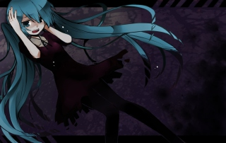 Hatsune Miku Vocaloid Wallpaper for Android, iPhone and iPad