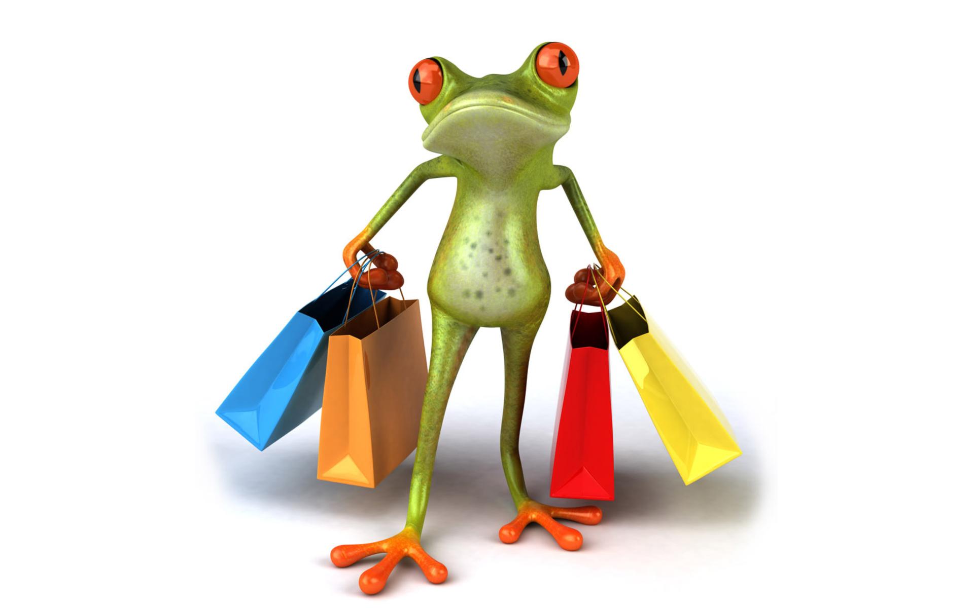 Юбилеем, шоппинг смешная картинка