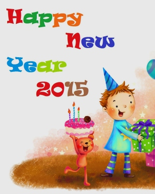 Happy New Year Childhood papel de parede para celular para iPhone 6