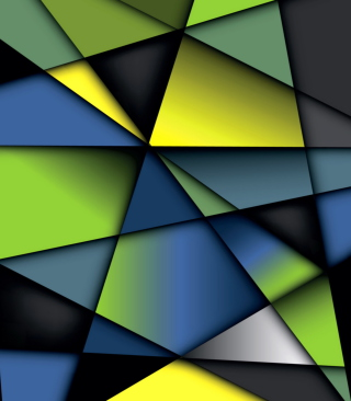 Colorful Geometry sfondi gratuiti per iPhone 6 Plus